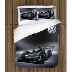 Комплект чаршафи със завивка Състезателна кола Фолксваген - Volgkswagen Race Car