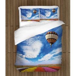 Спално бельо Въздушен балон в небето - Ballon Into the Sky
