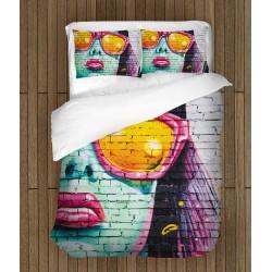 Спален комплект Улично изкуство - Wall Art