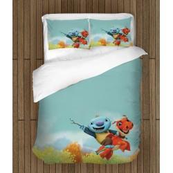 Спално бельо за деца Wallykazam