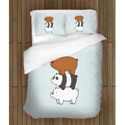 Спално бельо за деца Ние Мечоците - We Bare Bears