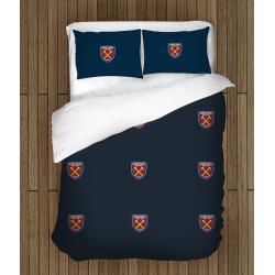 Футболно спално бельо със завивка 3D Уест Хамптън - West Ham