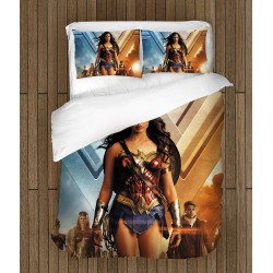 3D спален комплект Жената чудо - Wonder Woman