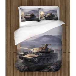 Фенско спално бельо World of Tanks