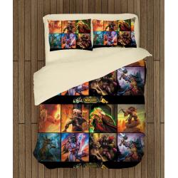 Геймърско спално бельо със завивка World Of Warcraft