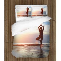 Спално бельо със завивка Йога - Yoga