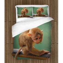 Чаршафи за легло Забавна майнунка - Funny Monkey