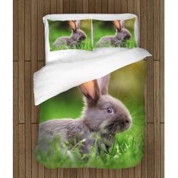 Спално бельо Заек в тревата - Rabbit in the Grass