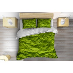Спално Арт Бельо Зелена хартия - Green Paper
