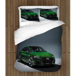 Спален 3D комплект със завивка Ауди - Audi