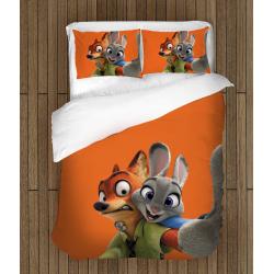 Комплект спално бельо със завивка Зоотрополис - Zootopia
