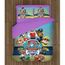 Детски Комплект спално бельо със завивка Пес Патрул - Paw Patrol