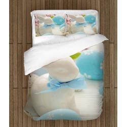 Спален комплект за Великден Порцеланово зайче - Porcelain Rabbit