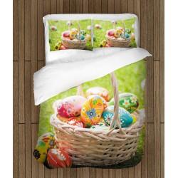 Празничен спален комплект Великденска кошница - Easter Basket