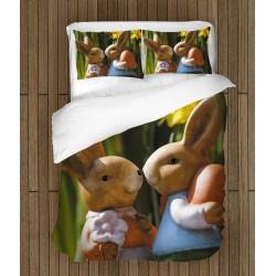 Спален комплект Великденски зайчета - Easter Bunnies