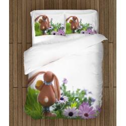 Ефектно спално бельо Великденско зайче - Easter Bunny