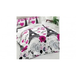 Спално бельо с олекотена завивка - 100% Термо-силиконова Вата - Paris