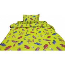 Стилно спално бельо - 100% Памук - Crazy Cars