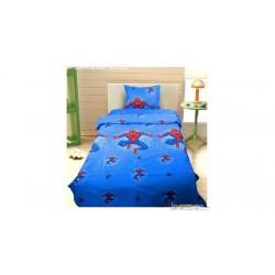 Спално бельо с олекотена завивка - 100% Термо-силиконова Вата - Spiderman 2