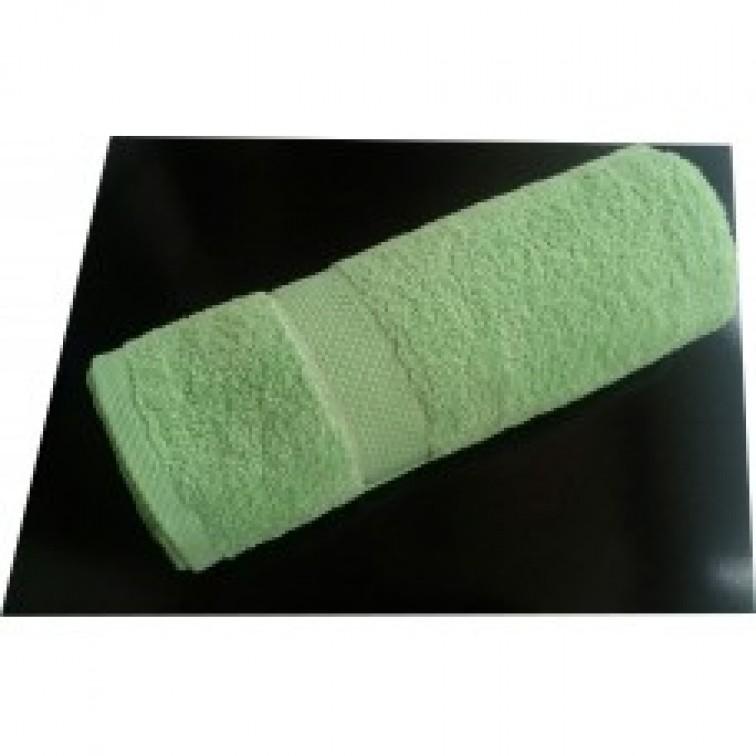 Пухкава хавлиена кърпа - 100% Памук - Green Flower