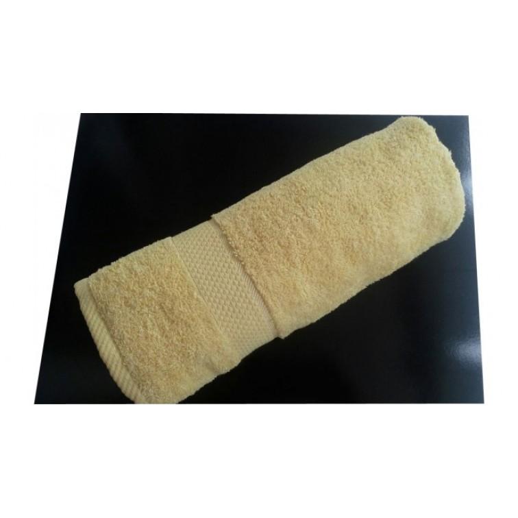 Пухкава хавлиена кърпа - 100% Памук - Yellow Style