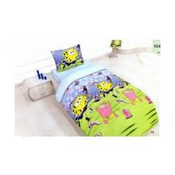 Стилно спално бельо - 100% Памук - Sponge Bob